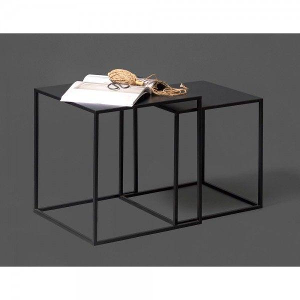 Beistelltisch Zita 2er Set Beistelltisch Metalltische Tisch