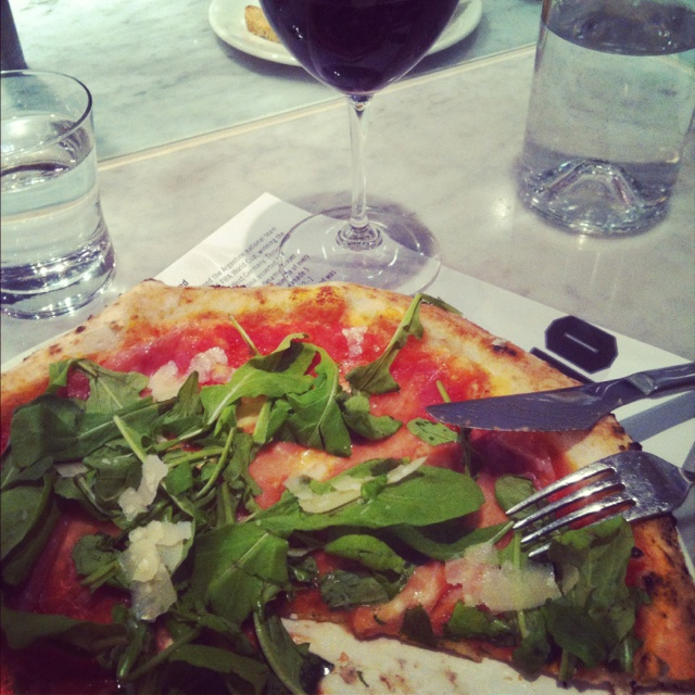 Dinner at Pizzeria Locale in Boulder. Highly recommend!!