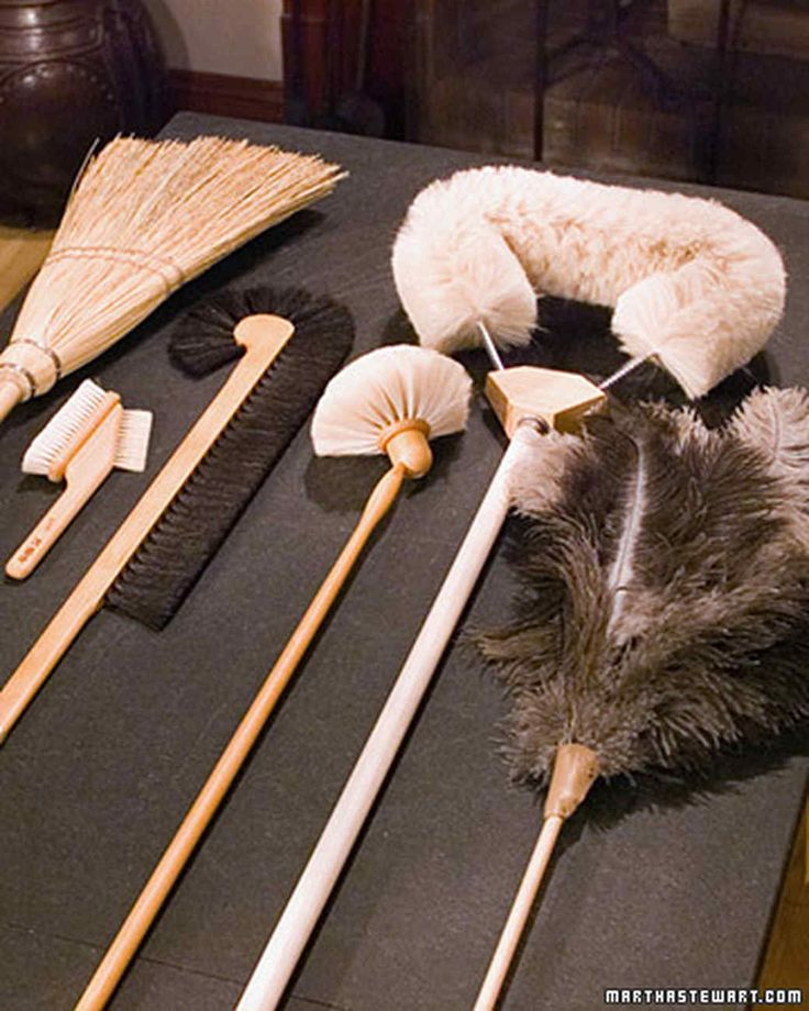 Lamb's-Wool Duster Cleaning Tools | Martha Stewart Living - The natural lanolin oils in this type of duster combine with static electricity to attract and hold dust. Use it the same way as a feather duster.