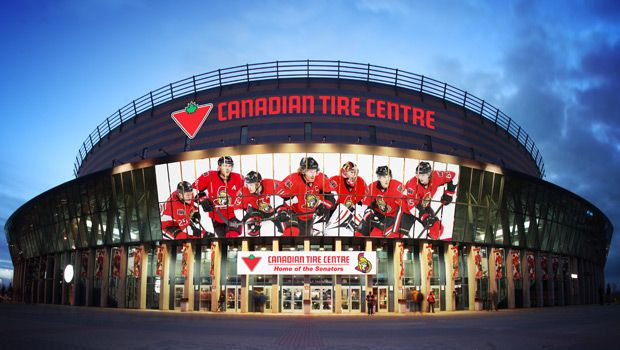 Canadian Tire Center is the Ottawa region's premier sports and entertainment venue. Located 15 minutes west of downtown Ottawa, the 19,153-seat venue has played host to some of the world's most popular performers including Bruce Springsteen, U2, Elton John, Bon Jovi, Katy Perry, Lady Gaga, Taylor Swift, and the best in family entertainment. For more information on Ottawa entertainment & nightlife  visit www.ottawatourism.ca/en/visitors/what-to-do/entertainment-and-nightlife