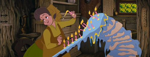 Sleeping Beauty - This Birthday Cake   Community Post: The 17 Most Delicious Moments In Disney Animation