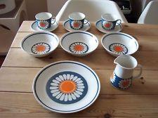 RARE Figgjo Flint Turi Design Daisy job lot Norway Mid Century
