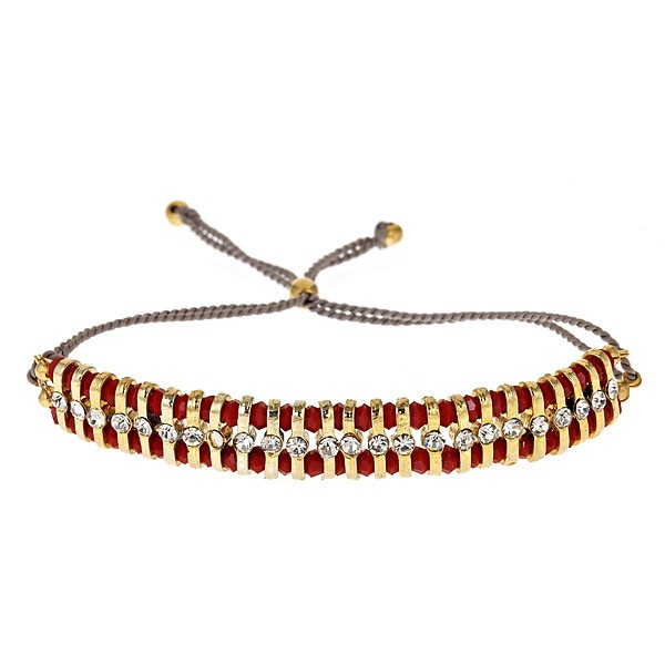 Shashi crystal friendship bracelet...