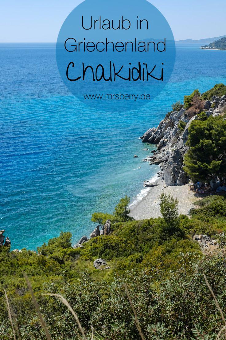 Chalkidiki ist eine griechische Halbinsel am Ägäischen Meer.   Ich nehme euch mit auf eine Rundfahrt über die erste Landzunge Kassándra und zeige euch Bilder zum Wegträumen – von türkisfarbenem Meer und traumhafter Natur.