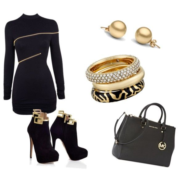 Sans titre #109 by piloneugenie on Polyvore featuring polyvore, fashion, style, Agent Provocateur and Michael Kors