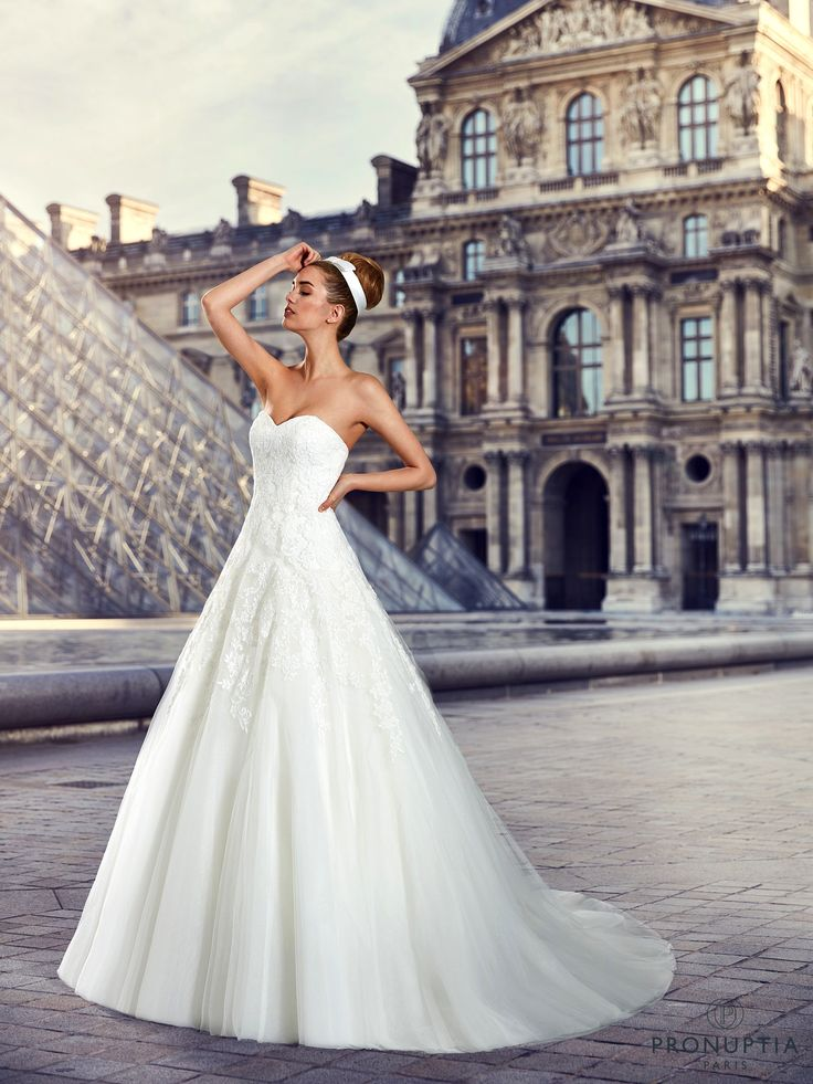 Fluorina, collection de robes de mariée - Pronuptia