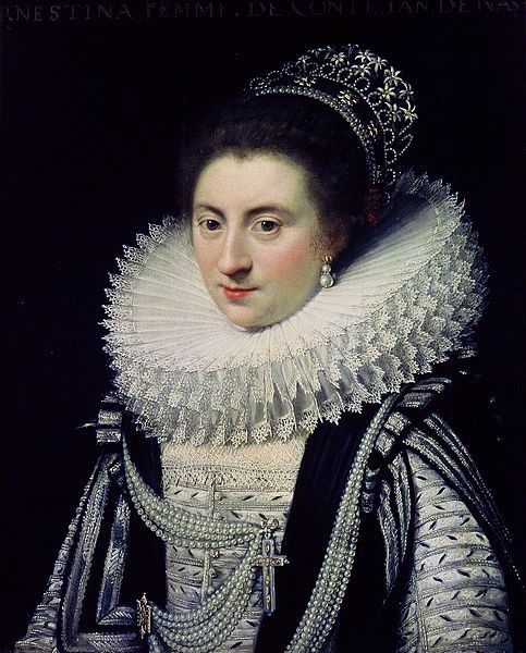 Jan Anthonisz. Van Ravesteyn, Portrait of Ernestine Yolande (1594-1663)…
