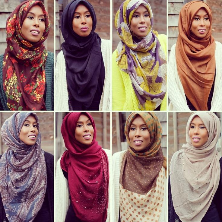 beautiful hijab styles by basmak hijab hijabifashion