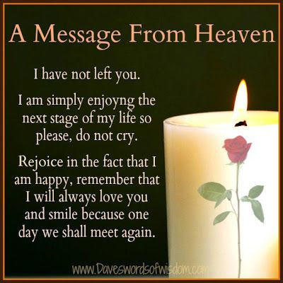 Messages+From+Heaven | Message From Heaven From Those Departed