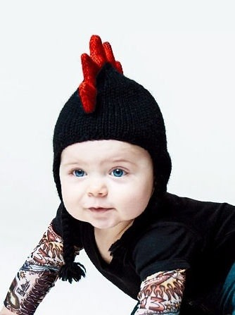 This is too cute! Tattoo Sleeve Shirt & Mohawk Beanie <3 Love it! 8531 Santa Monica Blvd West Hollywood, CA 90069 - Call or stop by anytime. UPDATE: Now ANYONE can call our Drug and Drama Helpline Free at 310-855-9168.