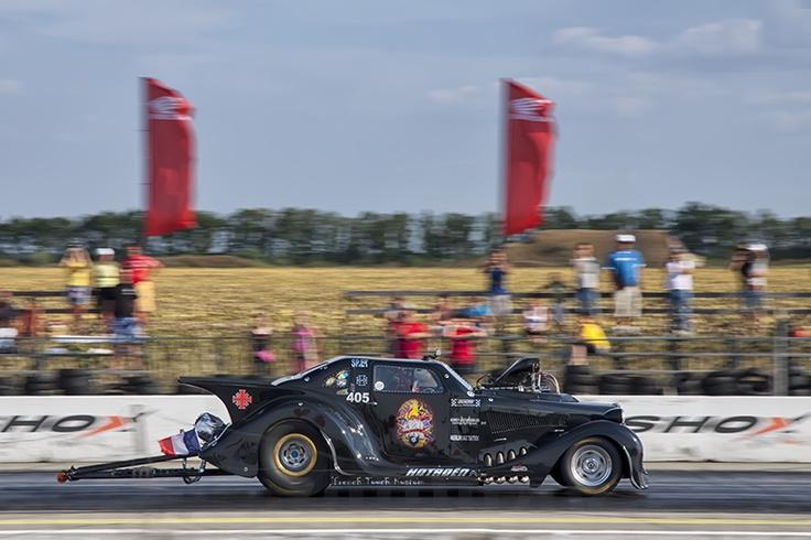 Drag Racing at Kunmadaras airbase in eastern Hungary