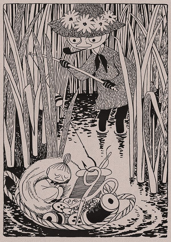 from Moominsummer Madness by Tove Jansson