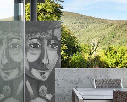 Kunst Mit Beton Fotobeton Oder Glas Im Garten