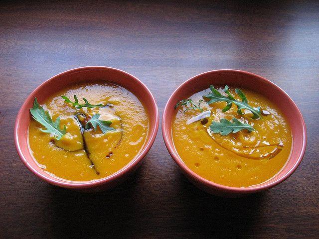 Crema de Calabaza, Jengibre y Manzana (via Bloglovin.com )