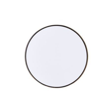 Reflektion spiegel Ø 30 cm antiek messing