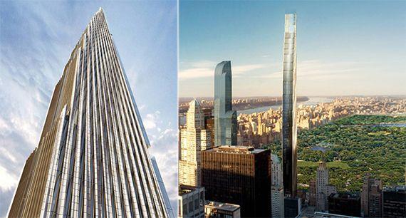Skyscraper at 111 West 57th Street gets new renderings