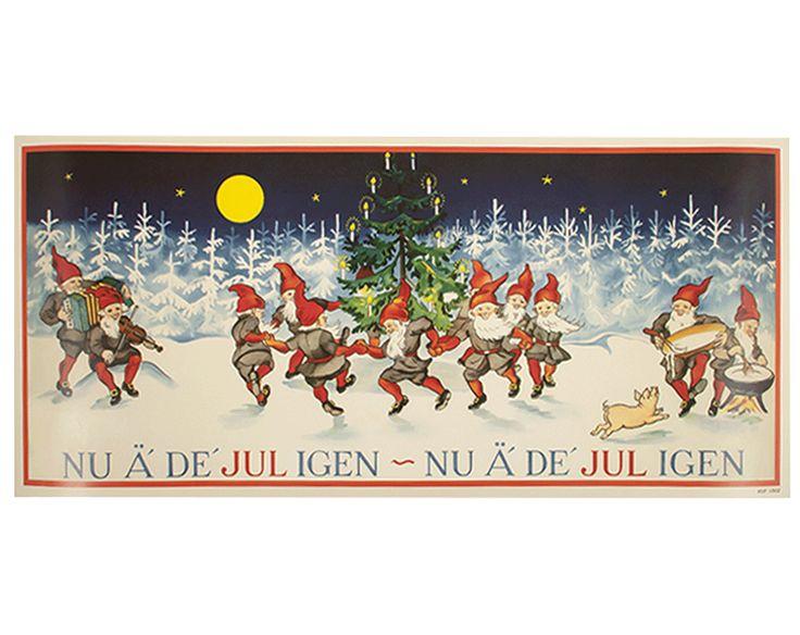Julbonad Dans kring granen