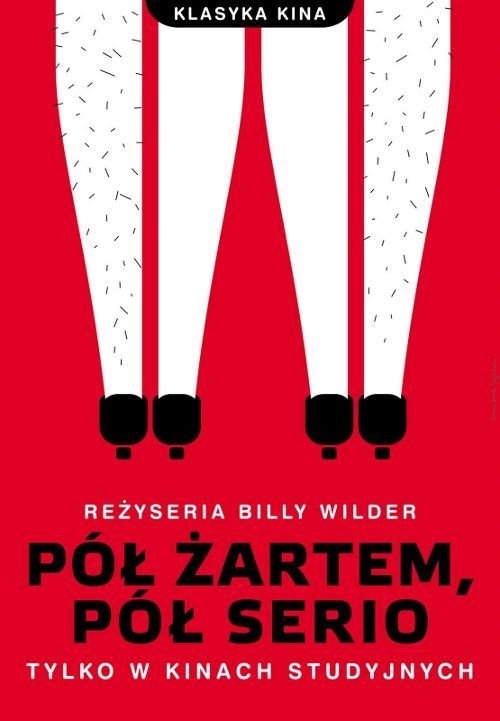 Some Like It Hot, Polish Movie Poster