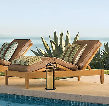 Santa Monica Outdoor Furniture Collection from Restoration Hardware