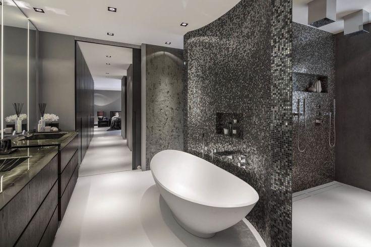Luxe badkamer design met luxe ligbad