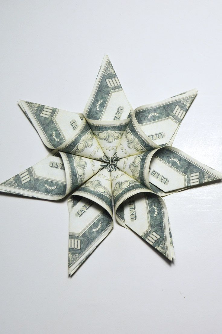 54 best money flowers origami images on pinterest