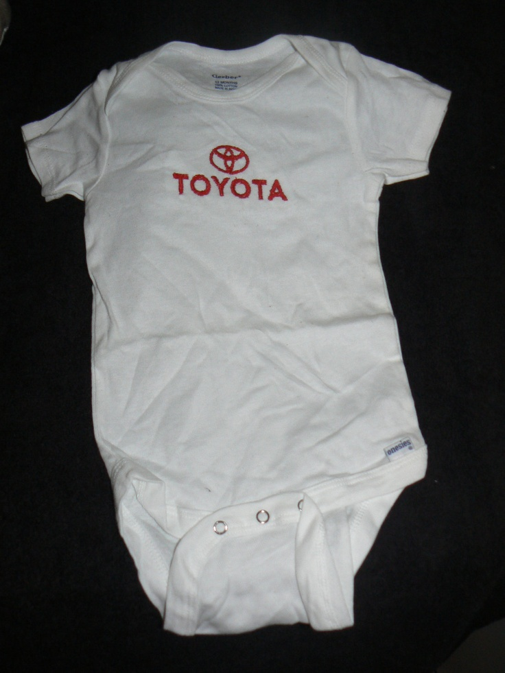 Is your baby a #Toyota baby? Check out this #Toyota baby onesie.