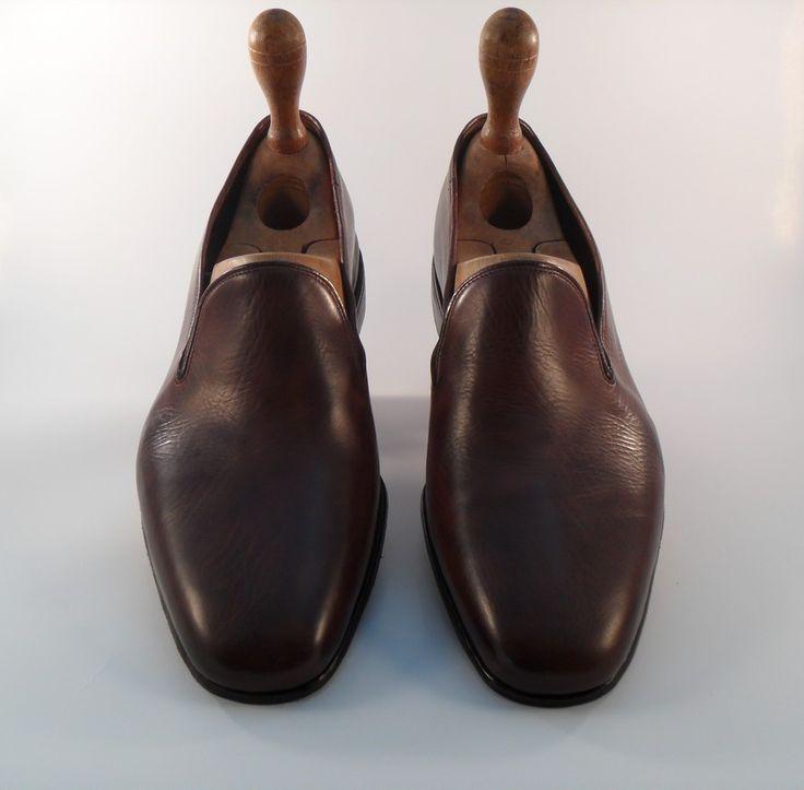 Sneakers - Costruzione Magreb - Vitello Vegetale Sigaro - Fondo cuoio 5mm