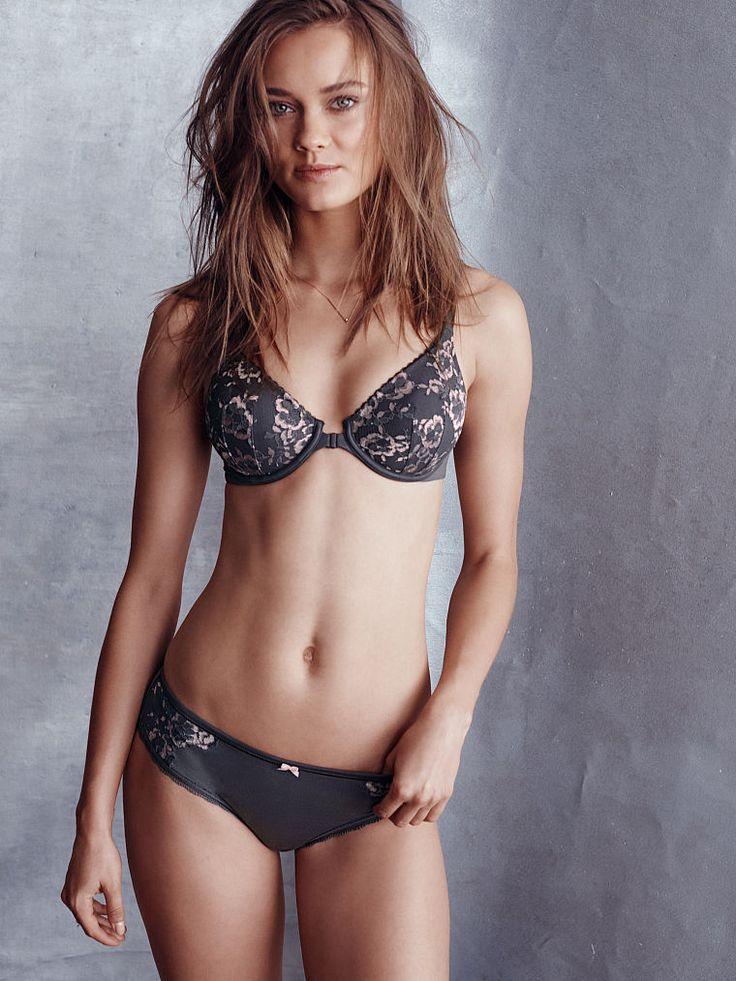 girls modeling no coverage lingerie