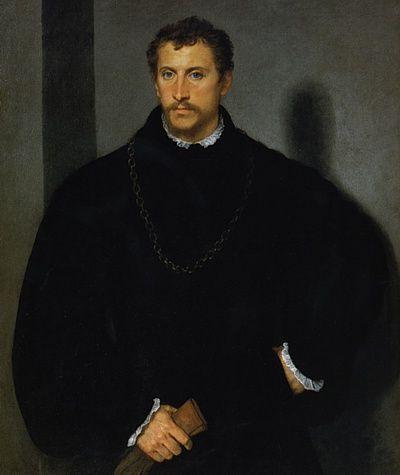 """Mostra: Capolavori dell'arte europea - Ritratto di gentiluomo, detto """"L'uomo dagli occhi grigi"""""""