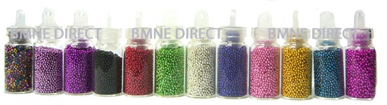 Micro Bead Set of 12 colours Micro Nail Art beads [] - $7.85 : BMNE Direct Wholesale Nail Supplies, Nail supply shop online