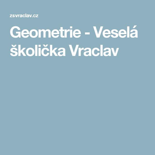 Geometrie - Veselá školička Vraclav