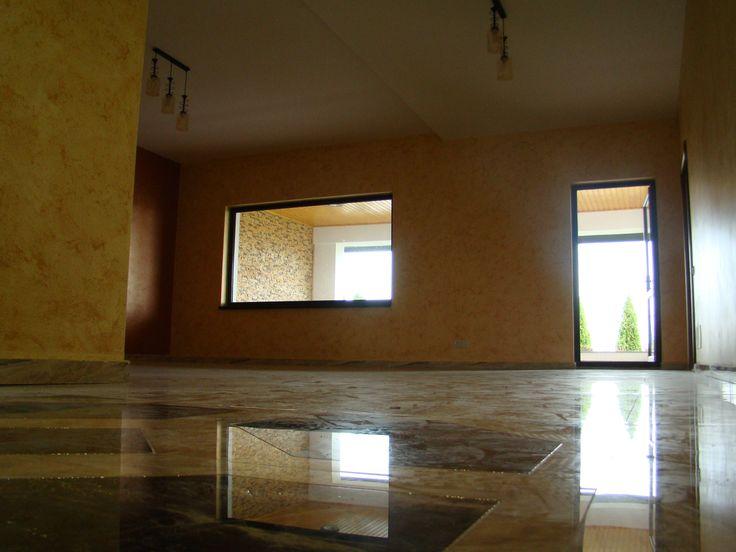 Vla travertino - large living room