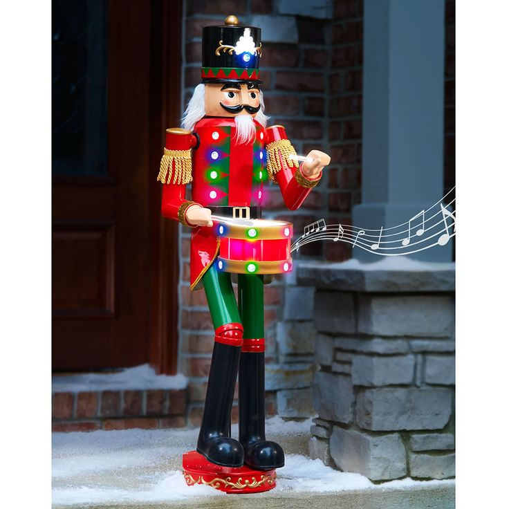1786 best christmas time images on pinterest christmas for 4 foot nutcracker decoration