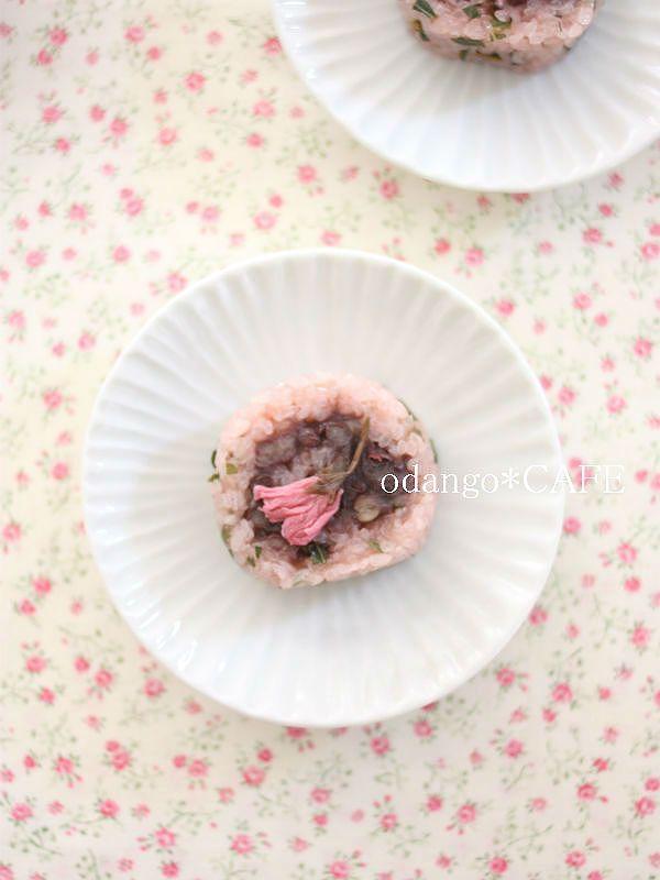 道明寺粉で!くるくるロール桜餅♡ おしゃれな桜餅の作り方