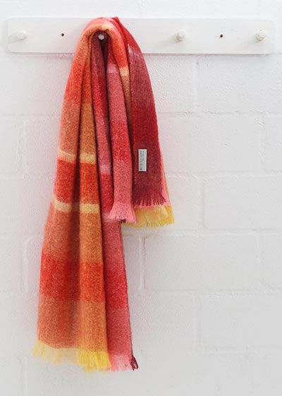 Hinterveld's Beautiful Story Range of Mohair Throws offer this gem, Friday Dreaming