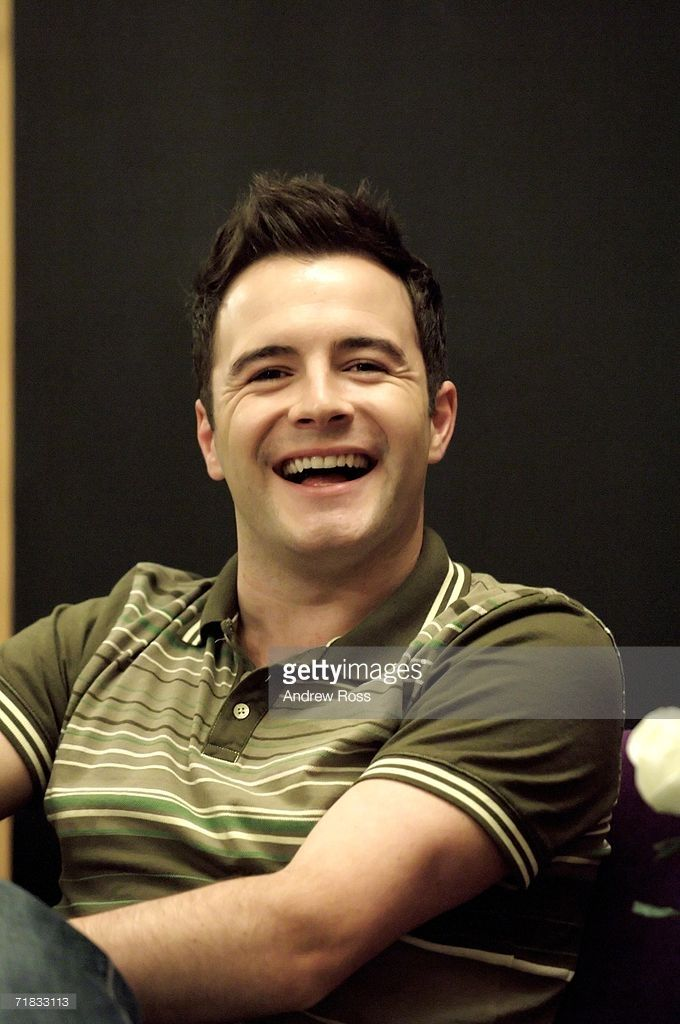 Shane Filan of Irish band Westlife attends a press conference at the Hong Kong airport ahead of their 'Westlife Face to Face Asian Tour - HK' concert this evening on September 9, 2006 in Hong Kong, China.