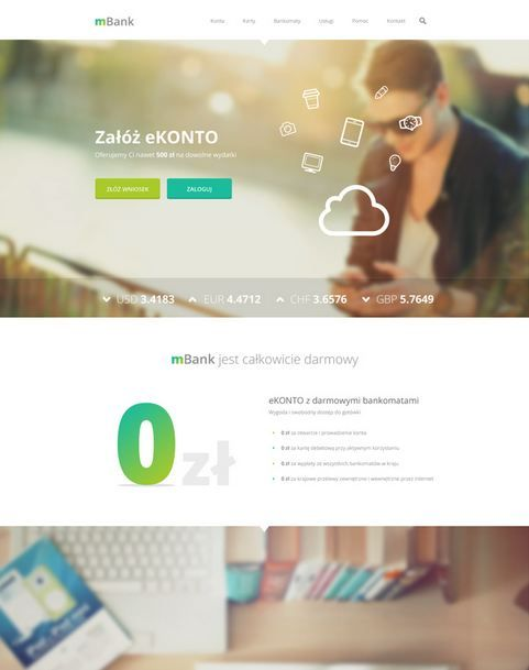Daria Michalska mbank redesign
