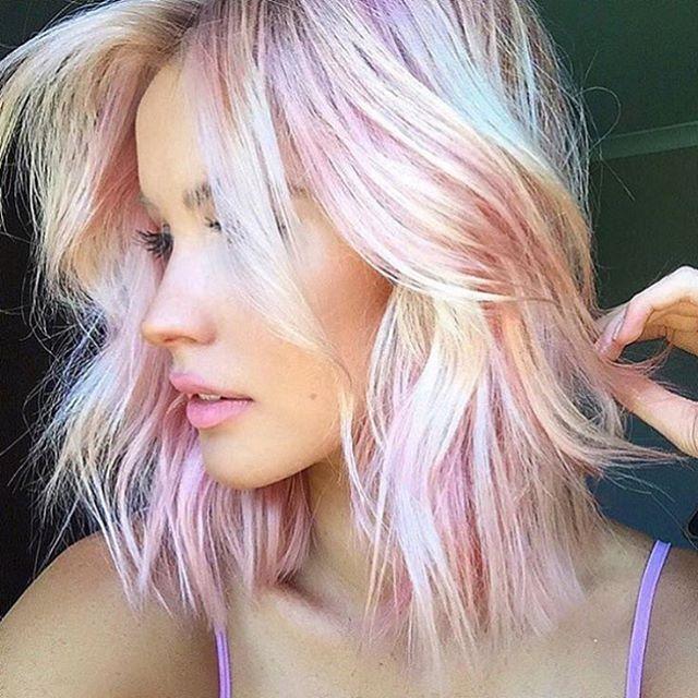 Perfect pastel hair