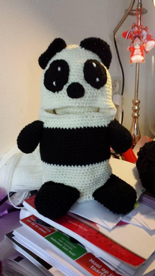 Voorbeeld Zorgenvriendje ook leuk deze Panda foto van maakster Alida Niks.