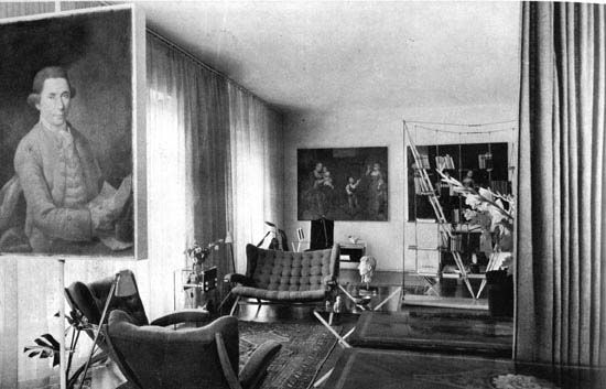 Franco Albini's apartment