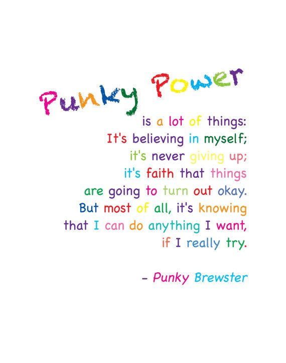 Digital Download  Punky Power Definition  by KeToCreationsOnEtsy