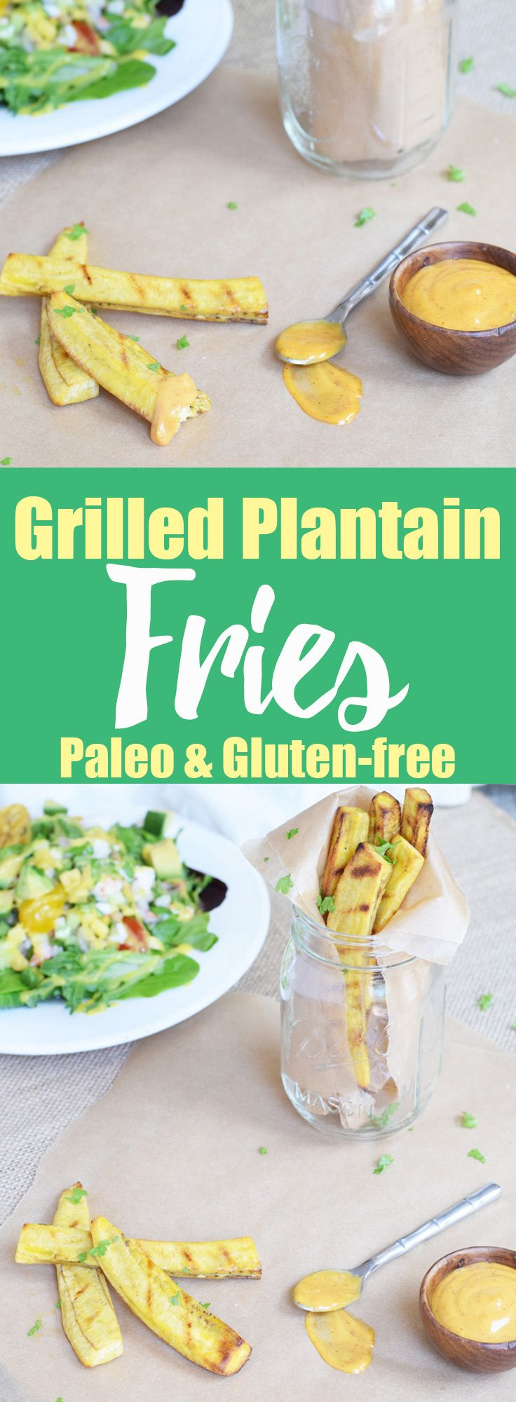 Grilled Plantain Fries from Living Loving Paleo!   paleo, gluten-free &…