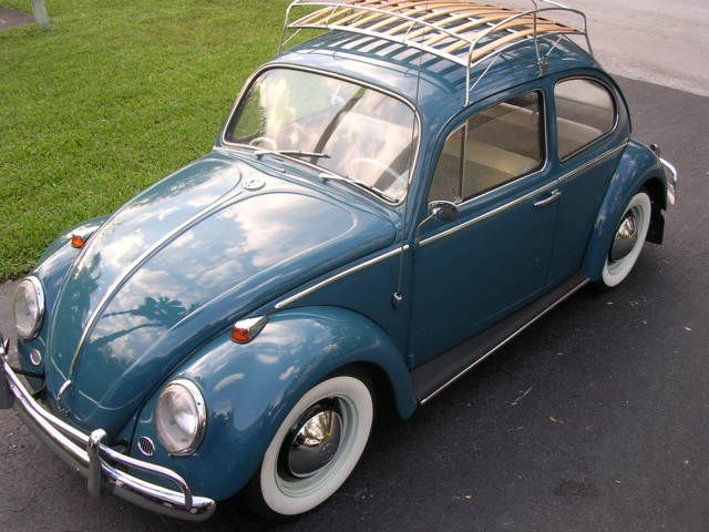 1966 Sea Blue Vw Beetle For Sale Oldbug Com: My Sea Blue 65- Mine Was A Convertible. Drove It For 13