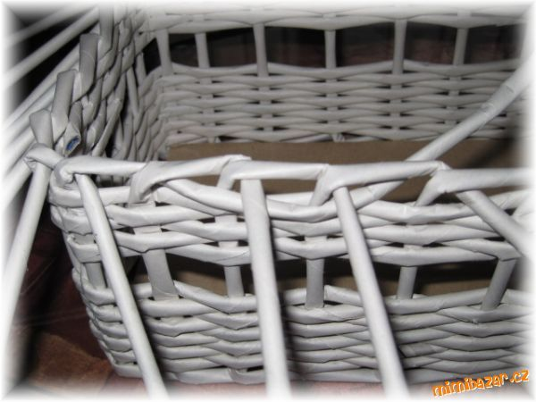 Už několik maminek se mě ptalo, jakým způsobem zakončuji košíky, tak jsem se rozhodla vložit návod :...