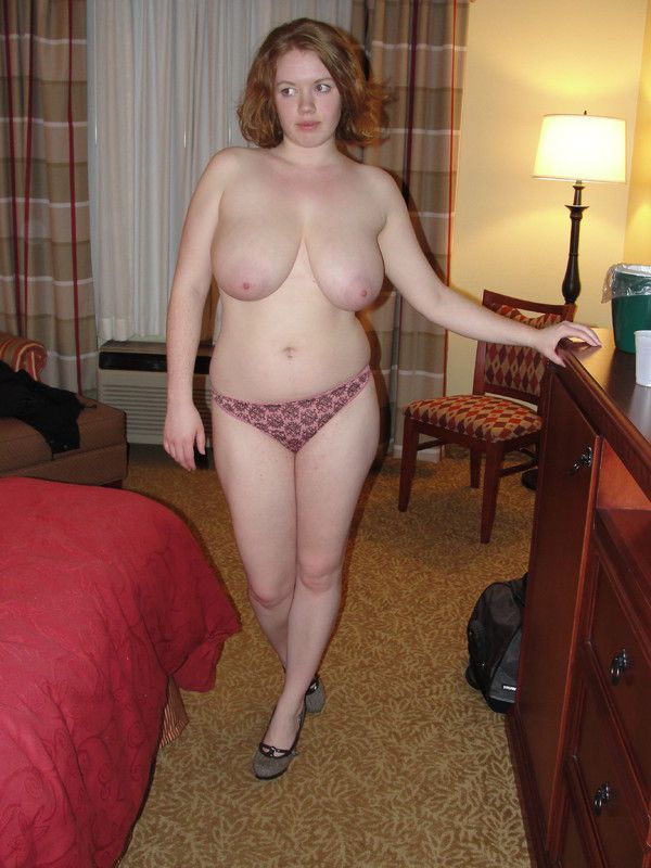 Chubby Teen Kissing Undressed On