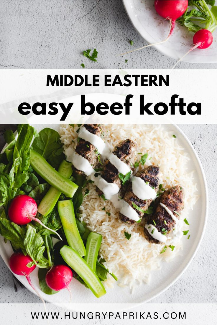 Jun 20, 2020 – Easy to make ahead of time, these beef koftas are infused with middle eastern flavours. Made with 7 spice…