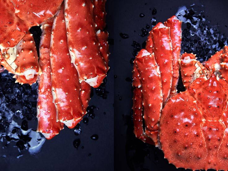 Камчатский краб из ресторана «Мансарда» #ресторанmansarda #crab #seafood #food #ginzaproject
