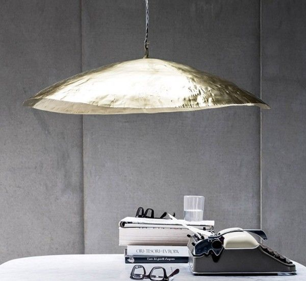 Brass 95 is a suspension lamp by paola navone for gervasoni lights pinte - Suspension paola navone ...