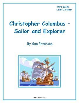 Christopher Columbus - Sailor and Explorer: Third Grade Le