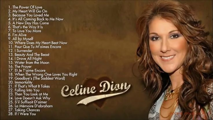 Celine Dion Greatest hits full album new 2017
